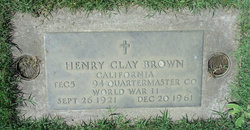 Henry Clay Bud Brown