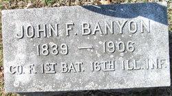 John F Banyon