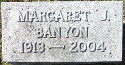 Margaret <i>Bland</i> Banyon