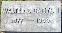 Walter Edward Banyon