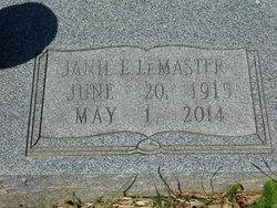 Janie Lillian <i>Mounts</i> Clements