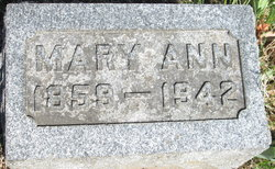 Mary Ann <i>Jardine</i> Brown