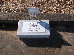 Alpha Agee