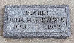 Julia M. <i>Lizakowski</i> Gerszewski