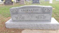Alma <i>Shelton</i> Abernathy