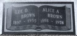 Artie Alice <i>Jameson</i> Brown