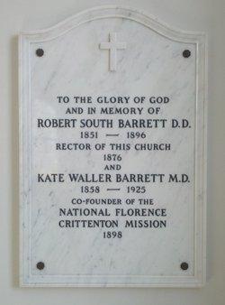 Rev Robert South Barrett
