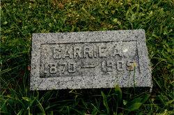 Carrie A. <i>Miner</i> Bennett