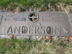 Louise M. <i>Goodeill</i> Anderson