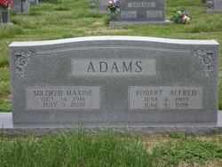Robert Alfred Red Adams