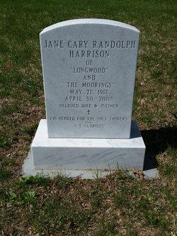 Jane Cary <i>Randolph</i> Harrison