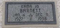 Erma Josephine Jo <i>King</i> Barnett