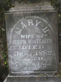 Mary B. <i>Hayter</i> Whiteaker