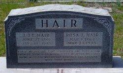 John Joseph Lafayette Hair