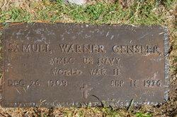 Samuel Warner Gensler, Sr