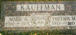 Thelma M <i>Miller</i> Kauffman