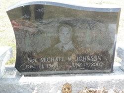 Sgt Michael Walter Johnson