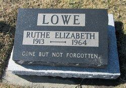 Ruthe Elizabeth Lowe