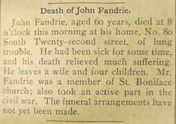 John Fandrie