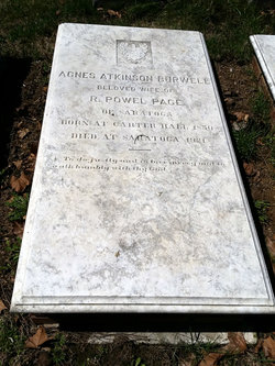 Agnes Atkinson <i>Burwell</i> Page