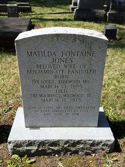 Matilda Fontaine <i>Jones</i> Randolph