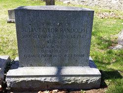 Julia Edmond <i>Taylor</i> Randolph