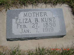 Elizabeth <i>Buhler</i> Kunz