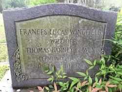 Frances Lucas <i>Wingfield</i> Gowen
