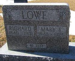 Mary Rebecca <i>Warner</i> Lowe