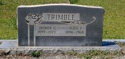 Alice Izora <i>Freeman</i> Trimble