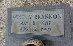 Agnes <i>Youmans</i> Brannon