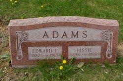Edward F Adams