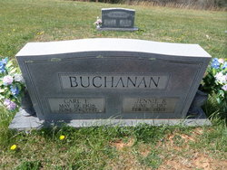Jennie <i>Burleson</i> Buchanan