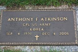 Anthony F Tony Atkinson