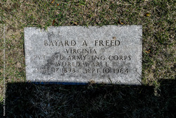 Bayard Alexander Freed