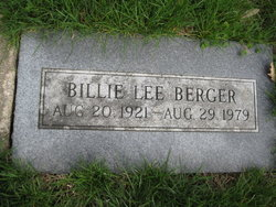 Billie Lee Berger