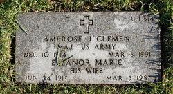 Ambrose J Clemen