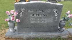 Lena <i>Colquitt</i> Burgess