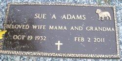 Sue <i>Armstrong</i> Adams