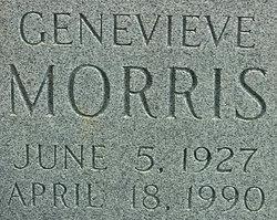 Mrs Genevieve Jean <i>Leffler</i> Morris