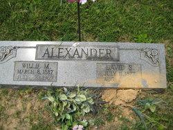 Willie Madora <i>Dorr</i> Alexander