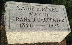 Sadie E. <i>McKee</i> Carpenter