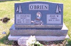 Thomas Eugene Mickey O'Brien