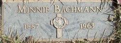 Minnie <i>Bock</i> Bachmann