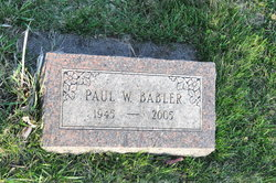 Paul William Babler