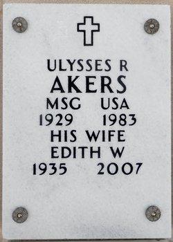 Edith W Akers