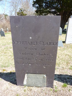 Mehitable <i>Scottow</i> Clarke