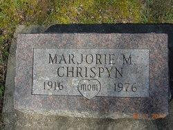 Marjorie Marie <i>Rink</i> Chrispyn
