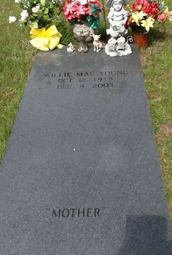 Willie Mae <i>Johns</i> Young
