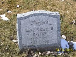 Mary Elizabeth Greene